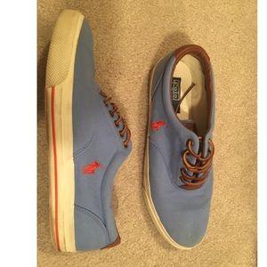Blue Polo Ralph Lauren Vaughn Sneakers